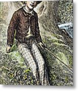 Tom Sawyer, 1876 Metal Print by Granger