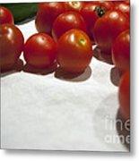 Tomato And Cucumber 1 Metal Print