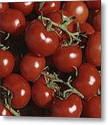 Tomatoes At A Market In Provence Metal Print