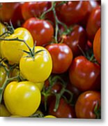 Tomatoes On The Vine Metal Print