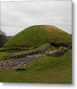 Tomb - Knowth - Ireland Metal Print
