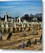 Tombstones Metal Print by Paul Ward
