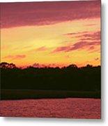 Tomoka River Sunset Metal Print