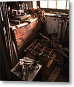 Tools Of The Past Metal Print