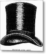 Top Hat, 1900 Metal Print