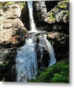 Top Of Kent Falls Metal Print