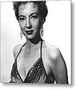 Top Of The World, Evelyn Keyes, 1955 Metal Print by Everett
