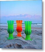 Topsail Hurricane Glasses Metal Print