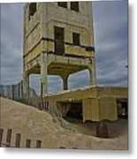 Topsail Island Observation Tower 6 Metal Print