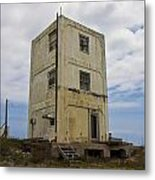 Topsail Island Tower 3 Metal Print