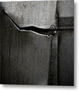 Torn Curtain Metal Print