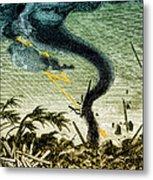 Tornado, 19th Century Metal Print