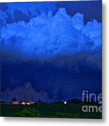 Tornado Over Madison 4 Metal Print