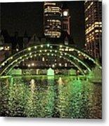 Toronto City Hall At Night Metal Print