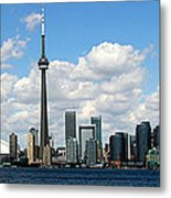 Toronto Skyline 10 Metal Print