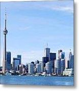 Toronto Skyline Canada  Metal Print