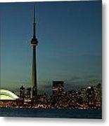 Toronto Skyline, Toronto, Ontario Metal Print