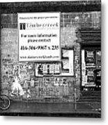 Toronto Streets Metal Print