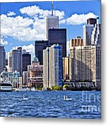 Toronto Waterfront Metal Print
