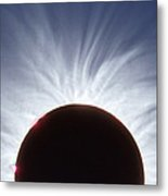 Total Solar Eclipse Metal Print by Dr Fred Espenak