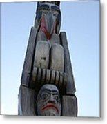 Totem Pole 14 Metal Print