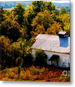 Touch Of Old Country Metal Print
