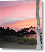 Touches Your Heart Metal Print