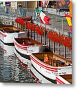 Tour Boats Metal Print