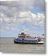 Touring Boat Metal Print