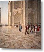 Touring Taj Metal Print
