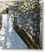 Tower And Thatch Metal Print