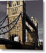 Tower Bridge Metal Print by David Pyatt