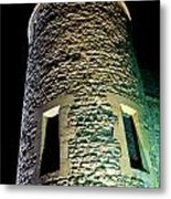 Tower Of London At Night Metal Print