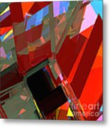 Tower Series 41 Mineshaft Metal Print