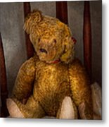 Toy - Teddy Bear - My Teddy Bear  Metal Print by Mike Savad