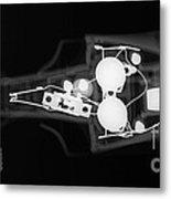 Toy Car X-ray Metal Print