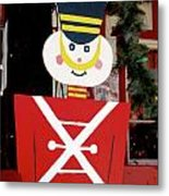Toy Soldier Christmas In Virginia City Metal Print