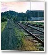 Tracks In Time Metal Print
