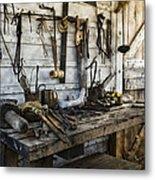 Trade Tools Metal Print