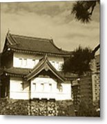 Traditional Building In Tokyo Metal Print