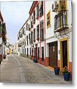 Traditional Houses In Cordoba Metal Print
