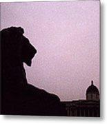 Lion Of London Metal Print
