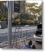 Traffic Control System, Daejeon Metal Print by Mark Williamson