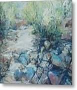 Trail Incline Metal Print