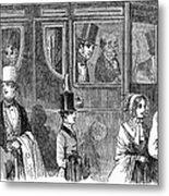 Train Travel: First Class Metal Print