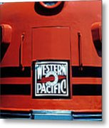 Train Western Pacific Metal Print by Garry Gay