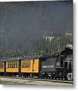 Trainload Of Tourists Metal Print