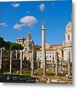 Trajan's Market Metal Print
