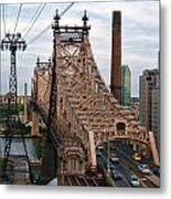 Tram View East Metal Print