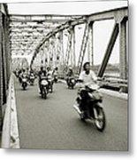 Trang Tien Bridge Metal Print